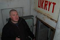 Radek Čáni připravuje vojenské muzeum v Domažlicích.