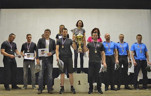 V soutěži družstev obhájili loňské zlato reprezentanti Plzeňského kraje, druzí skončili Ústečtí a třetí Olomoučtí.