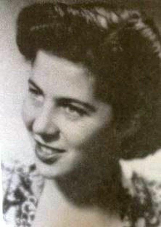 Eva Erbenová, rozená Löwidtová, v roce 1948.