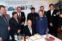 Bavorští a čeští politici slavili 20. výročí pádu železné opony ve Furthu im Wald.