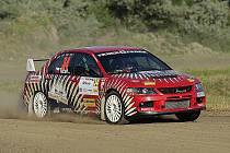 Marcel Tuček na trati Rally Bohemia.
