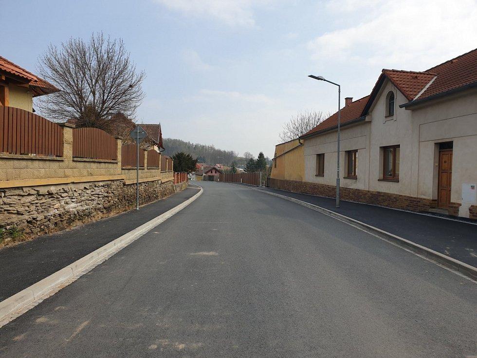 Plzeňská ulice v Horšovské Týně.