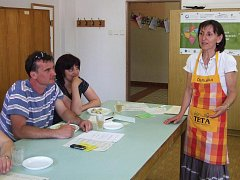 Drahoslava Jandíková přednášela o zdravé výživě.