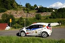 Rally Bohemia 2020: Trněný / Pritzl (Ford Fiesta R5).