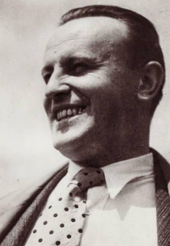 Zdeněk Bořek-Dohalský v době, kdy pracoval jako zpravodaj Lidových novin.