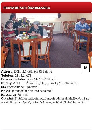9.restaurace Škarmanka.