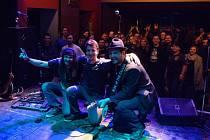 Diagnoza Exitus křtila album na koncertě v Plzni.