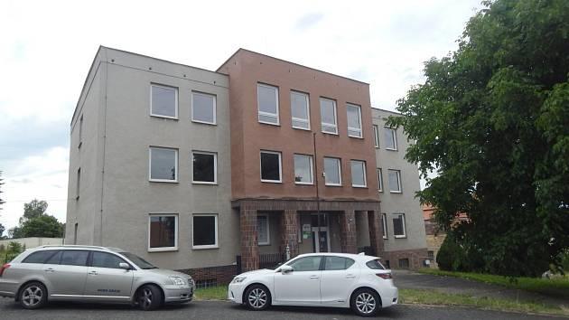 Budova bývalého finančního úřadu v Domažlicích.