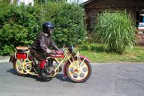 KURIÓZNÍ MOTORKY  ČECHIE-BÖHMERLAND (na snímku je kratší,sportovní verze) uvidíme i letos