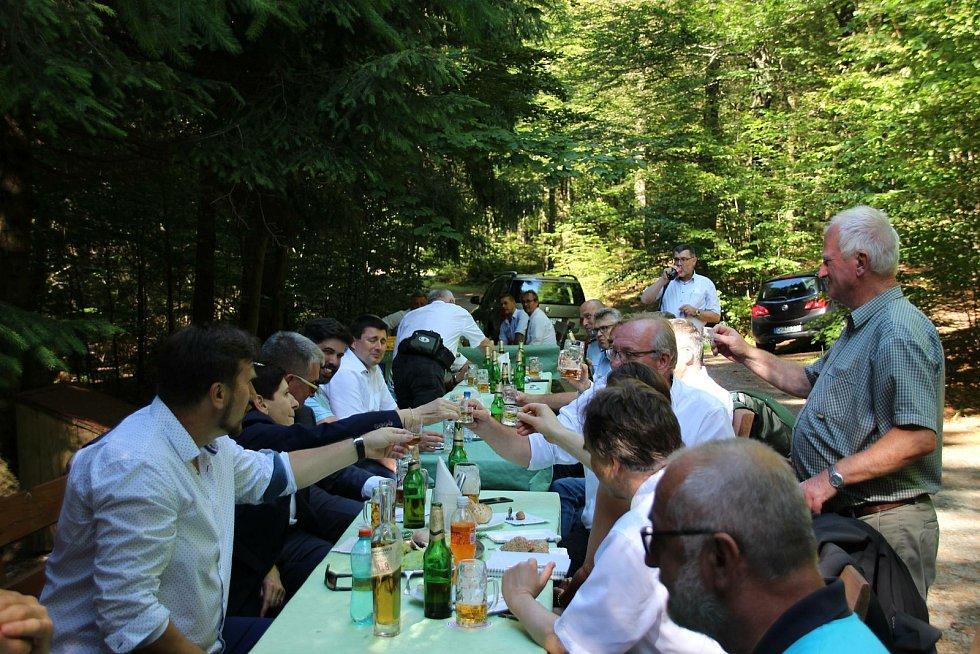 Slavnostní setkání ke 30 letům otevření hranic. Foto: Karl Reitmeier