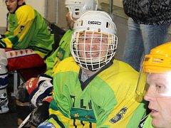 Hokejisté Sokola Díly (na snímku Soběhart) nestačili na Tatran Přimdu.