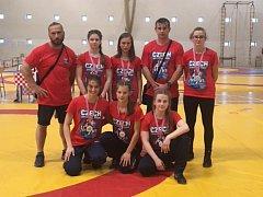 Šest zápasnic přivezlo šest medailí