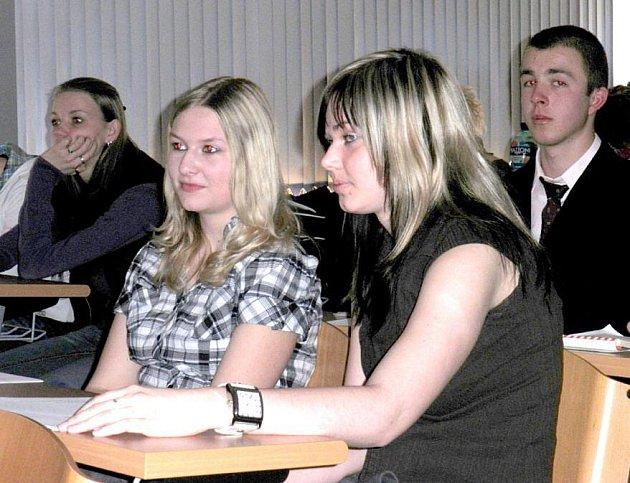Z regionální soutěže v psychologii.