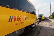 Moderním vlakem se mohou vozit i obyvatelé našeho regionu.