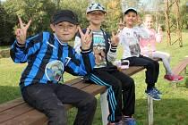 V Tlumačově hledali mezi dětmi fotbalové talenty.