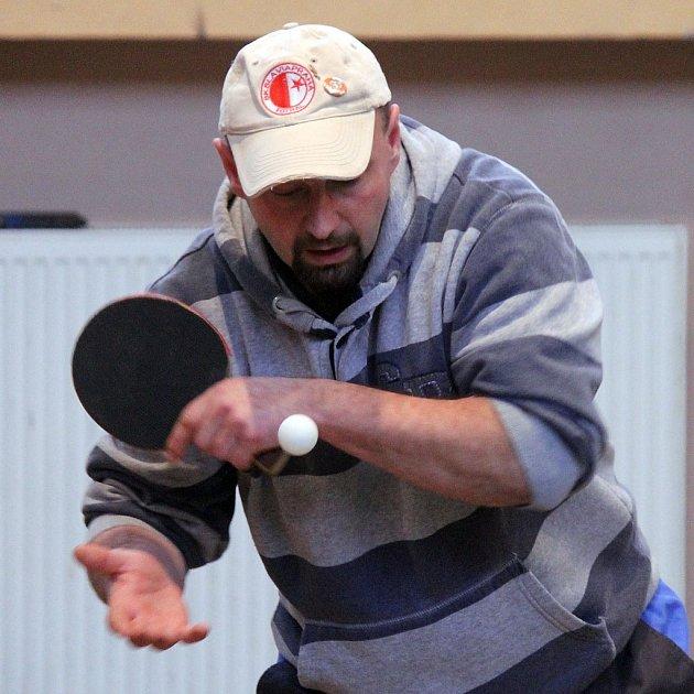 Sokolovna ve Staňkově hostila v sobotu Staňkovský pinčes, turnaj ve stolním tenisu pro neregistrované hráče.