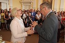Ministryně pro místní rozvoj Karla Šlechtová navštívila Chodské slavnosti.