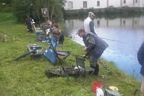 Rybářských závodů v Přesu se zúčastnilo 31 soutěžících.