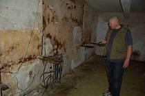 Velitelský bunkr v bývalých domažlických kasárnách.