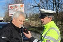 Policejní kontroly u příležitosti svátku Josefa.