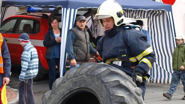 Železný hasič v Poběžovicích.