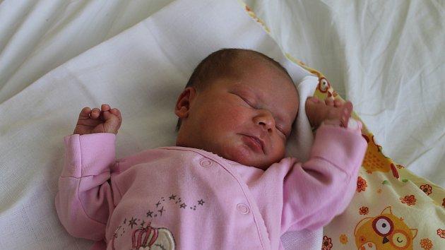 ADÉLA ŠIKOVÁ z Boru u Olešné (2 750 g a 47 cm) se narodila v Domažlické nemocnici 13. března v 9 hodin ráno mamince Kateřině Krauskopfové a otci Martinu Šikovi. Věděli, že jejich tříletá dcerka Julia bude mít sestřičku.