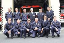 Generál navštívil domažlické hasiče.