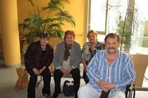Semněvičtí navštívili v březnu Zdeňka Horáčka v nemocnici.