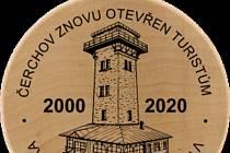 Nové suvenýry k výročí 20 let od znovuotevření Čerchova.