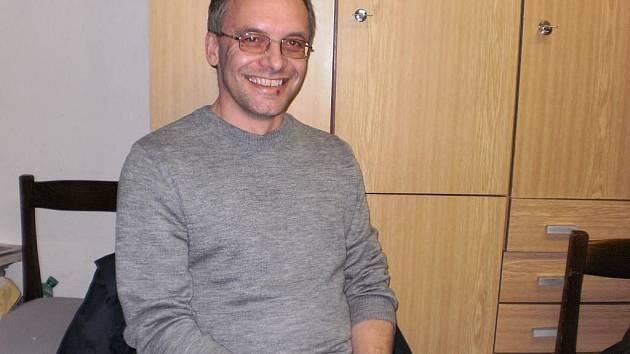 Vladimír Černý, starosta SDH Libkov.