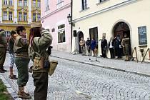 Vzpomínková akce k příležitosti konce druhé světové války v Horšovském Týně.