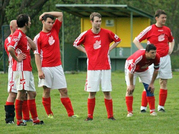 Ilustrační snímek z utkání fotbalistů SK Draženov.