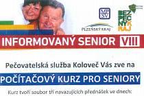 Počítačový kurz pro seniory se uskuteční v Kolovči.