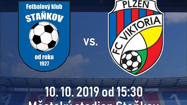 Kucharič proti Vrbovi! Gust proti Kayambovi! Přijďte dnes do Staňkova na FC Viktoria Plzeň!