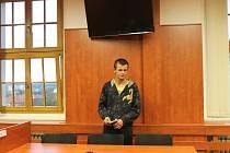 Obviněný Miroslav Hájek dostal za krádež 550 tisíc podmínku.