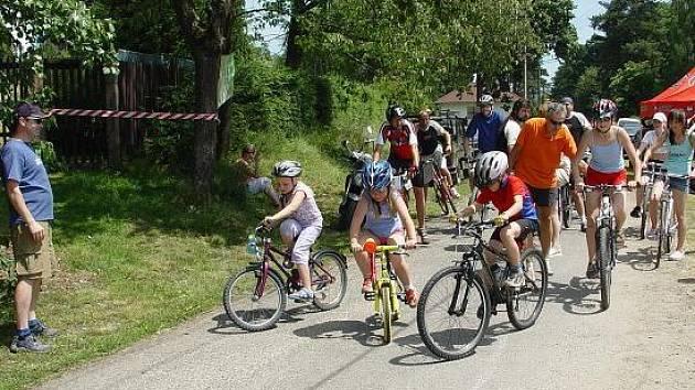 Šnajberské slavnosti. Cyklistický závod. Foto: archiv OS Šnajberk