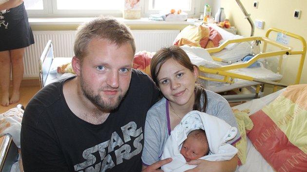 Vojtěch Dušek z Halže se narodil 17. října 2018 v 3:29 hodin v domažlické porodnici s váhou 3550 gramů a mírou 49 centimetrů. Maminka Helena s tatínkem Petrem svého druhorozeného syna na světě přivítali společně.