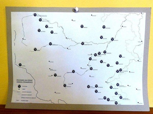 Zpivní výstavy vBělé nad Radbuzou.