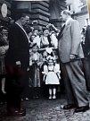 Z návštěvy prezidenta Antonína Zápotockého.