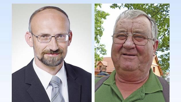 Pavel Čížek, předseda STAN (vlevo) a starosta Mnichova Josef Johánek.
