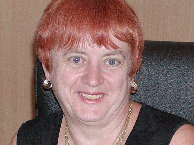 Zastupující ředitelka Městské knihovny B. Němcové v Domažlicích Hana Mlnáříková.