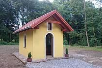 Nová kaple na Pleši.