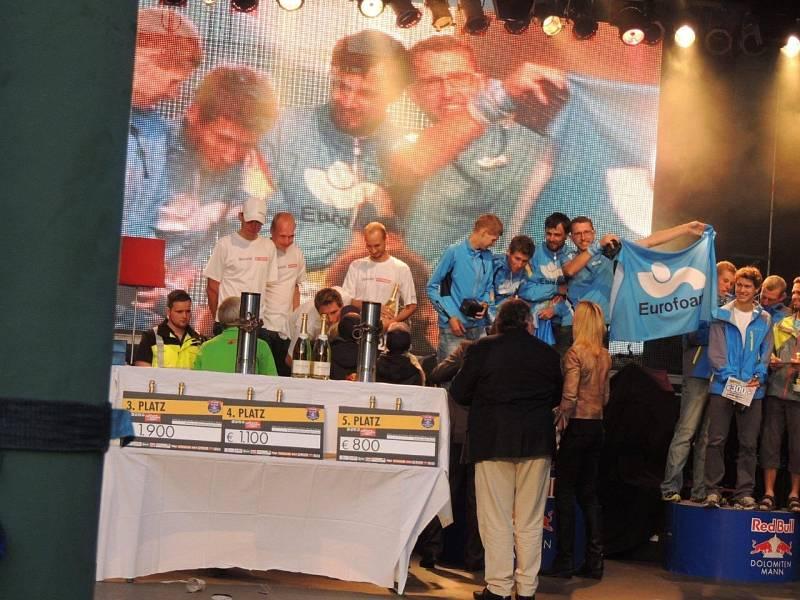 Štafetový závod Dolomitenmann 2012.