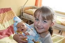 Marek Zmeškal z Horšovského Týna se narodil v domažlické nemocnici 14. října v 19:26 (3640 g, 50 cm).