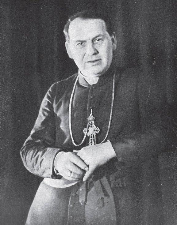 Svatovítský kanovník Antonín Bořek-Dohalský.