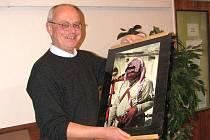 """Ladislav Lešický si v Jordánsku vyfotografoval dudáka: """"Oni sami neví, jak se tam dudy dostaly, ale viděl jsem ho jen v Gerase, kde si ho oblíbili. Je to takový import pro turisty,"""" říká Lešický."""