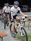 Z otevření nových cyklostras mezi Čerchovem a Hohenbogen v Gibachtu.