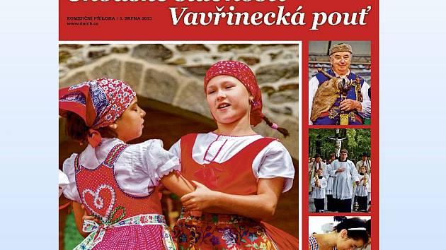 Z titulní strany přílohy Domažlického deníku.