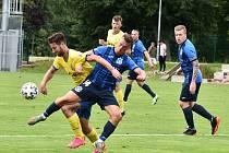 FC Písek - Jiskra Domažlice 1:3.