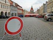 Centrum Domažlic bude až do pondělí neprůjezdné